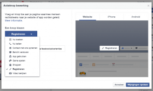 Add a call to action | 10 Facebook marketing mistakes that will cost you customers